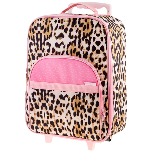 Toddler Rolling Luggage Leopard Print by Stephen Joseph