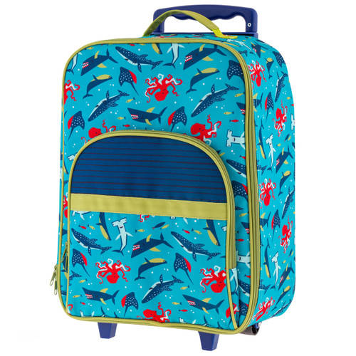 Sharks Kids Rolling Luggage
