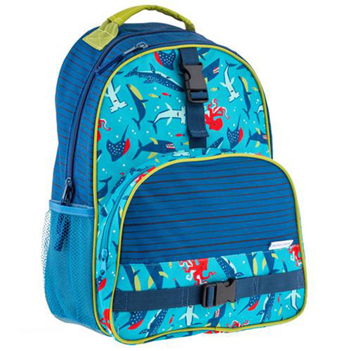 Boys backpack with Sharks