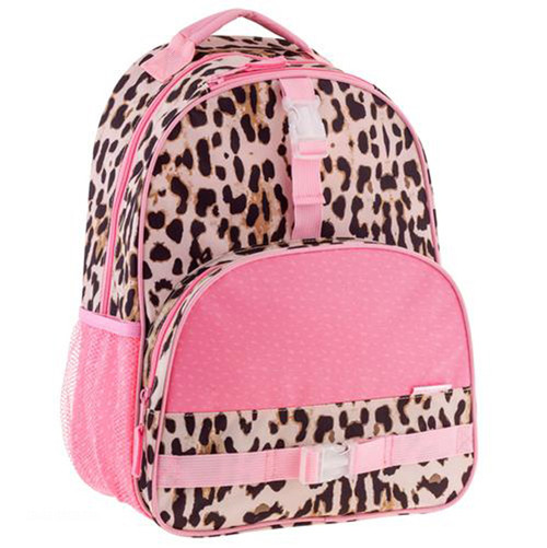 Little Girls Leopard Print Backpack