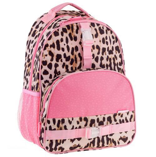 Little Girls Leopard Print Backpack