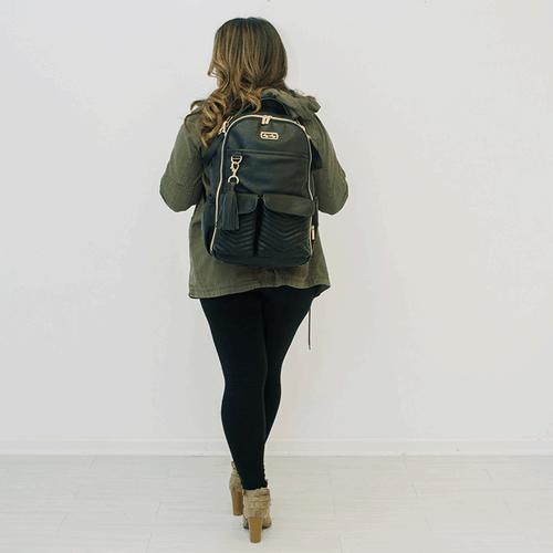 Backpack Diaper Bag Black