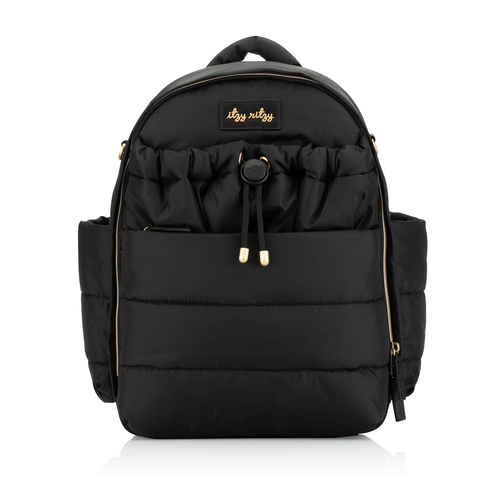 Itzy Ritzy Black Backpack Puffer Backpack