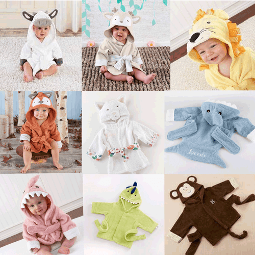 Robes for Baby- Baby robes for 0-9 mo . old babies