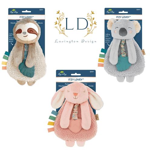 Lovey with Teether Sloth, Bunny and Koala Bear