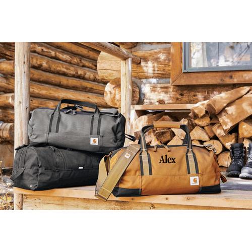 "Monogrammed Carhartt® 20""Duffle Bag"