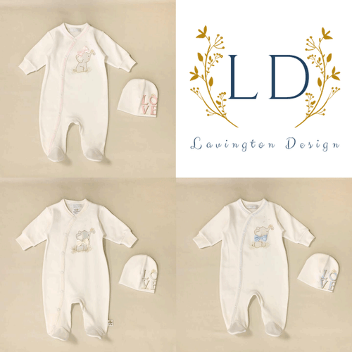 Layette for Baby, Elephant Design Unisex