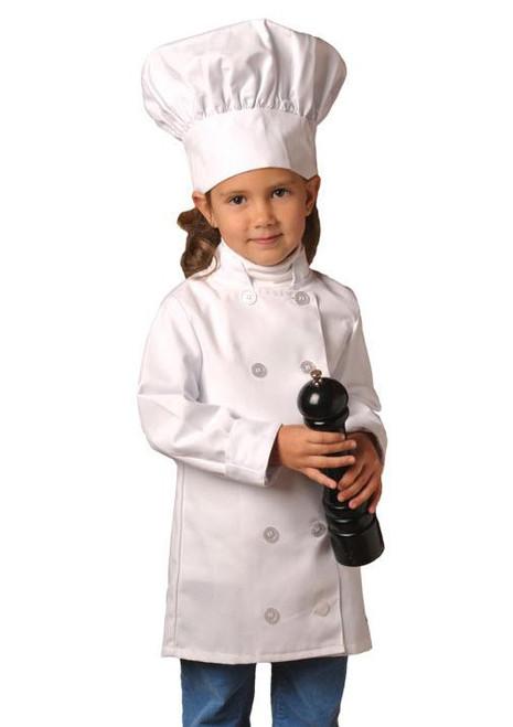 Kids Chef Set- little kids chef coat and hat set