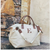 JUTE OVER Night Bag Personalized