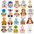 Birth Info stuffed animals , Personalized cubbies