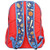 Back Side of Stephen Joseph Backpack for Boys with a sports Theme