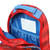 Inside view of sports theme backpack