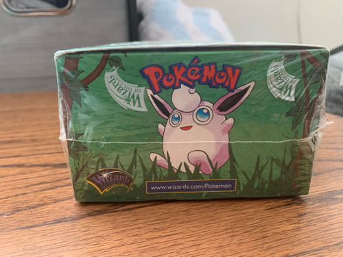 Pokemon Sealed Jungle Booster Box with Rare Red Logo (Australian)
