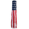 "Windsock - 40"" U.S. Stars and Stripes Embroidered"