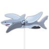 Great White Shark WhirlyGig Garden Spinner
