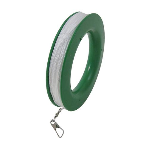 Kite Line on Hoop - Twisted Line - 100# X 300'