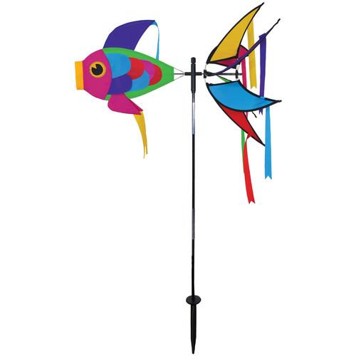 "Theme Spinner - 21"" Rainbow Damselfish"
