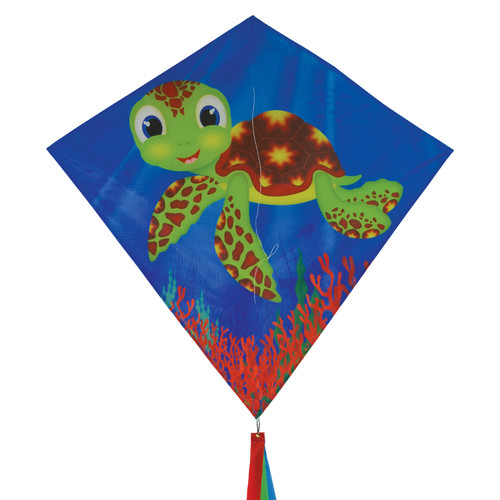 "Diamond - 30"" Baby Turtle Kite"