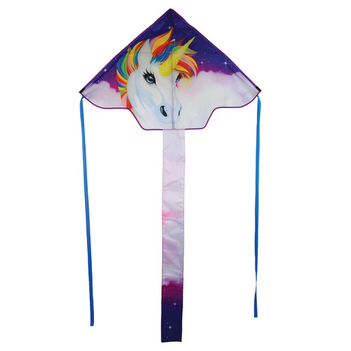 "Fly-Hi - 45"" Unicorn Kite"