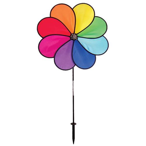 "Flower Spinner - 19"" Rainbow Dazy"
