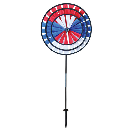 Wind Spinner - Patriot Triple Wheel