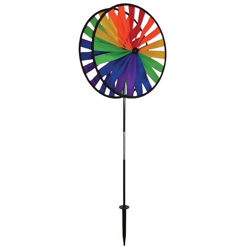 Wind Spinner - Rainbow Duo Wheel