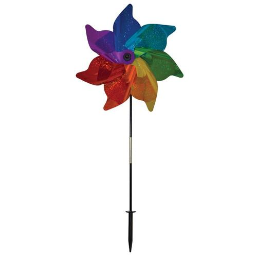 "Pinwheel Spinner - 18"" Rainbow Sparkle"