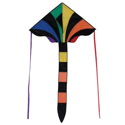 "Fly-Hi - 46"" Rainbow Sparkler Kite"