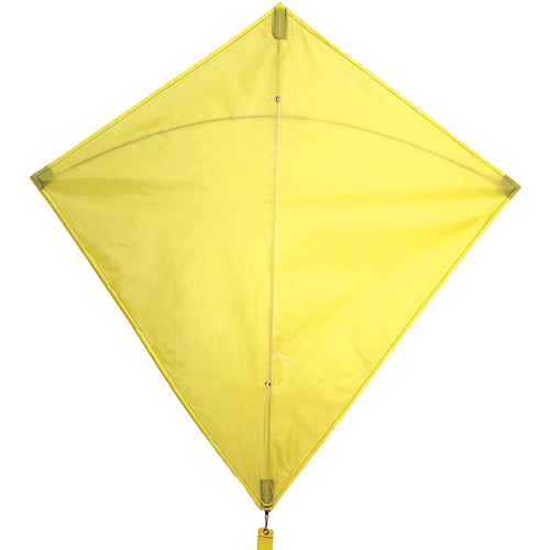 "Colorfly Diamond - 30"" Yellow Kite"