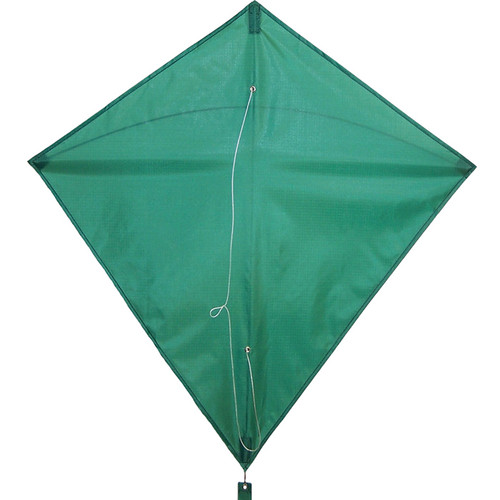 "Colorfly Diamond - 30"" Green Kite"