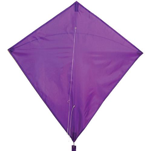 """Colorfly Diamond - 30"""" Purple Kite"""
