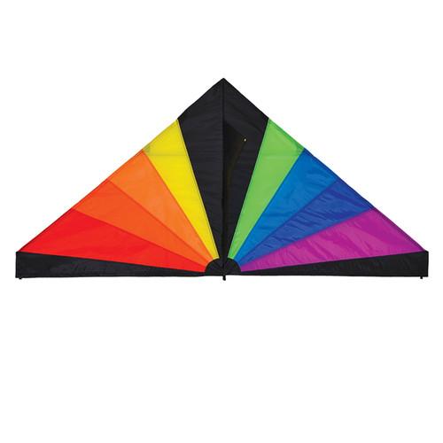 """Delta - 70"""" Rainbow Black Kite"""