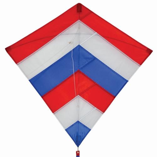 """Diamond - 30"""" Patriot Layers Kite"""