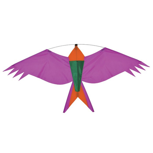 Silhouette - Purple Bird Kite