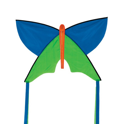 Silhouette - Blue Butterfly Kite