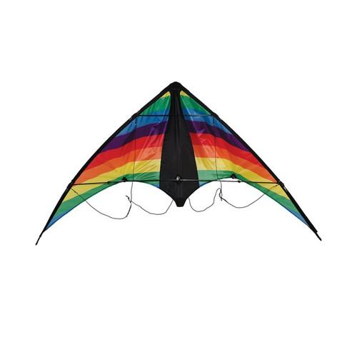 "Dual Control Sport - 48"" Rainbow Stripe Kite"