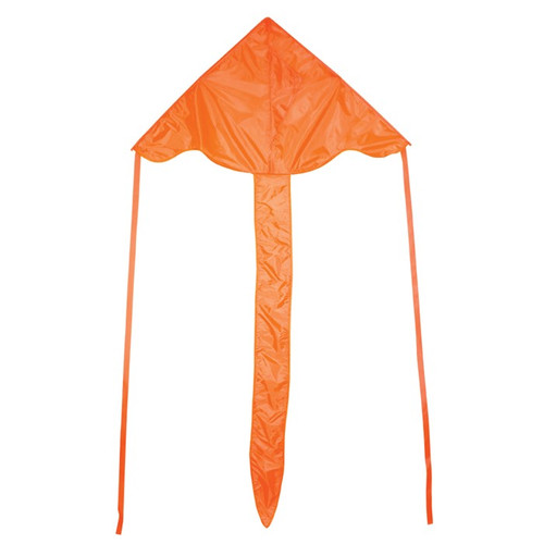 "Colorfly Fly-Hi - 43"" Orange Kite"