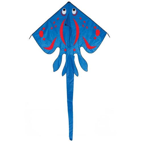 "Stingray Kite - 70"" Blue"