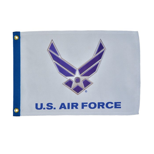 "Grommet Flag - 12"" x 18"" U.S. Air Force Wings"