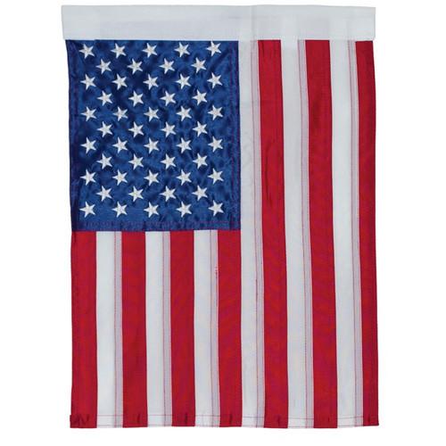 Garden Flag - US Flag Embroidered