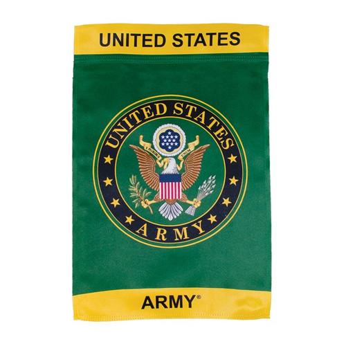 Garden Flag - Lustre - U.S. Army Symbol