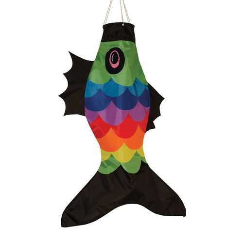 "Fishsock - 36"" Rainbow Overlay"