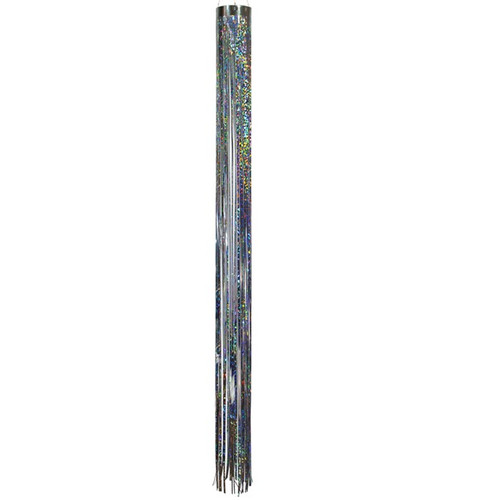 Mylar Windsock - 51-Inches, Silver