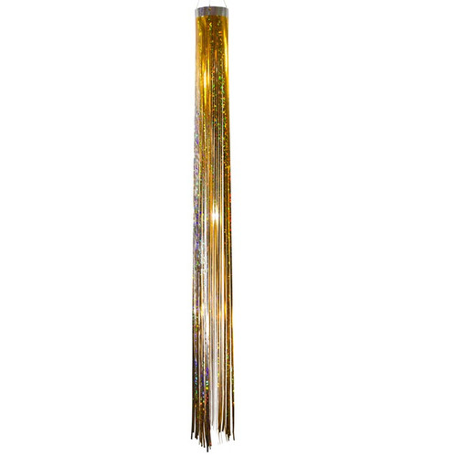 Mylar Windsock - 51-Inches, Gold