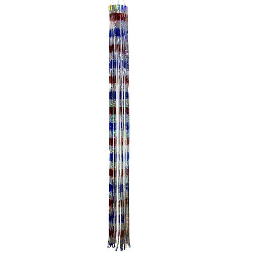 Mylar Windsock - 51-Inches, Red, White & Blue
