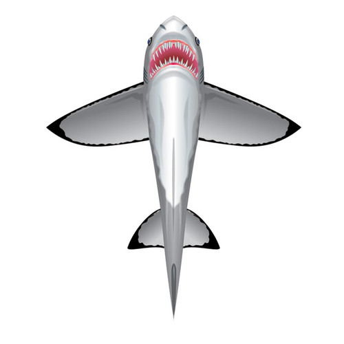 SeaLife DLX - Great White Shark Kite