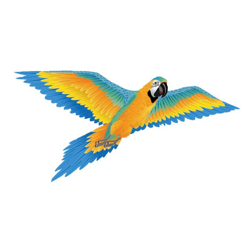 SuperSize 3D - Blue Macaw Kite