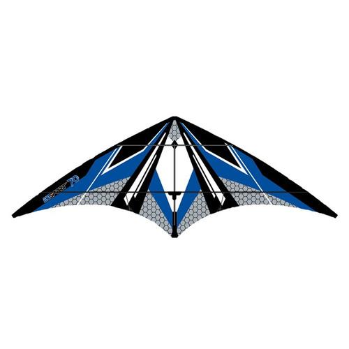 Dual Control Sport - EZ Sport 70 Blue Hex Kite