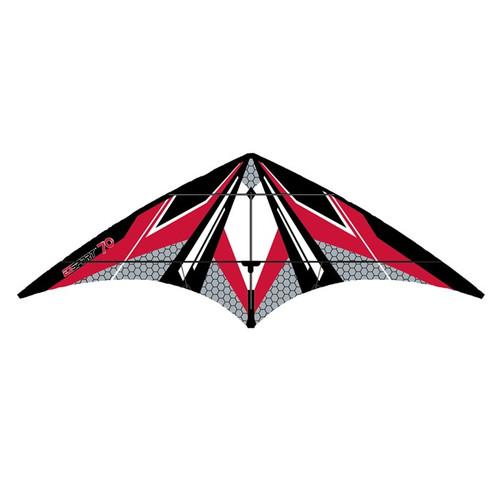 Dual Control Sport - EZ Sport 70 Red Hex Kite