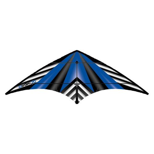 Dual Control Sport - EZ Sport 70 Blue Stripe Kite